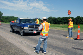 [Research to improve work zone safety]